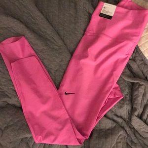 NWT Nike Pink Active Pants